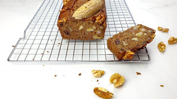 Bananenbrood - Clean eating, Glutenvrij, Lactosevrij, Paleo