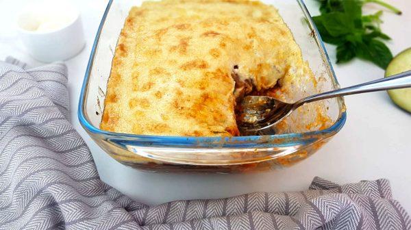 Vegetarische aubergine lasagne - Clean eating, Glutenvrij, Lactosevrij, Vegan