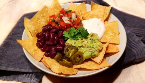 Nacho's met guacamole - Clean eating, Glutenvrij