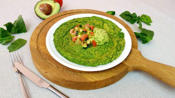 Spinaziepannenkoeken - Clean eating, Glutenvrij