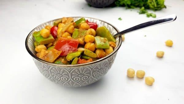 Gemakkelijke groentencurry