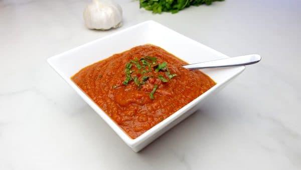 Snelle basis recept tomatensaus - Clean eating, Glutenvrij, Lactosevrij
