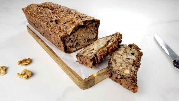 Courgette noten brood