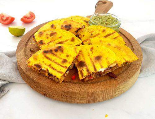 Mexicaanse quesadillas met verborgen groenten - Clean eating, Glutenvrij