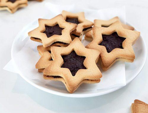 Choco kerstkoekjes – Clean eating, Glutenvrij, Lactosevrij