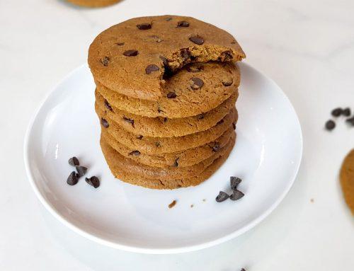 Chocolate chip koekjes - Clean eating, Glutenvrij, Lactosevrij