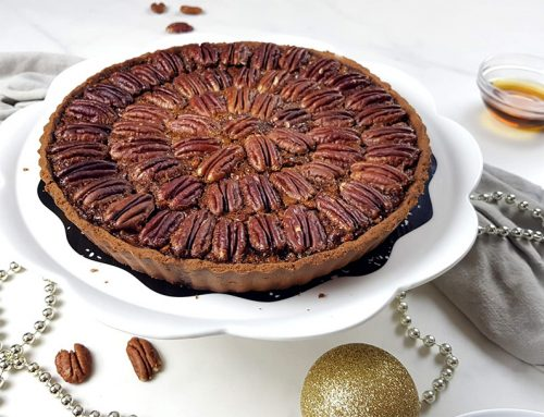 Pecan pie - Clean eating, Glutenvrij, Lactosevrij