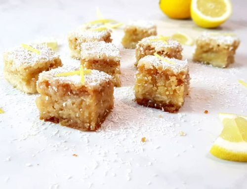 Lemon bars – Clean eating, Glutenvrij