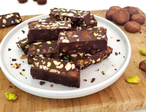 Chocolade kruidnotenrepen