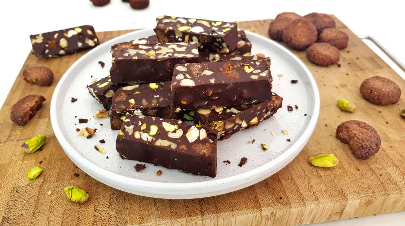 Chocolade-kruidnotenrepen
